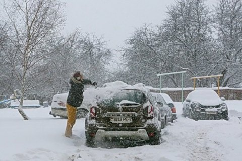 Лукашенко призвал белорусов помочь расчистить снег