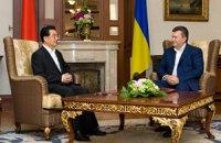Украина и Китай в 2012 году отметят 20-летие дипотношений