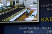 Журналистов в Кабмине заменили на фуршет