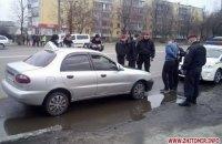 Киевский патрульный попался на езде пьяным за рулем такси в Житомире