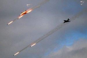 Авиация нанесла 5 ударов по боевикам в воскресенье