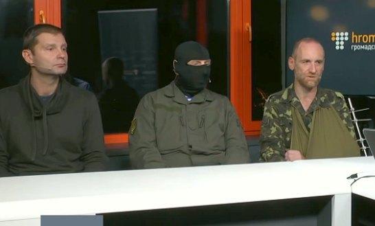 Золотухин(слева) и Козуб(справа) в эфире Громадського