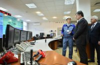 Порошенко посетил Днестровскую ГАЭС