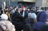 Жители Ясиноватой вышли на митинг против Губарева