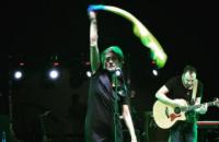 Земфира на концерте в Грузии выступала с флагом Украины