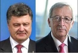 Порошенко и Юнкер договорились о встрече 30 ноября во Франции