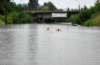 В Одесской области из-за паводка прорвало дамбу