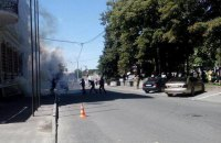 В Харькове напали на офис Оппоблока