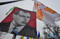 В Ровенской области установили памятник Степану Бандере
