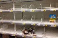 В магазинах Славянска закончились продукты, - очевидец