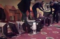 В Запорожье полиция ликвидировала восемь работавших под видом сети лотерей игорных залов