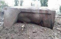 В Киеве завершили снос памятника чекистам