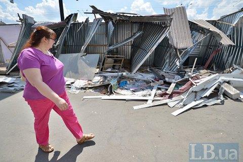 Кличко: ВКиеве заполгода демонтировали неменее тысячи незаконных МАФов