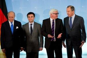 """Штайнмайер заявил о """"небольшом прогрессе"""" в берлинских переговорах"""