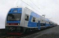 По маршруту Киев - Харьков пустят двухэтажный поезд