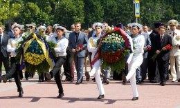 Левочкин отпраздновал День ВМФ России