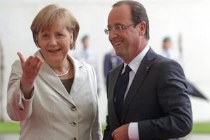 Меркель и Олланд призвали Путина прекратить бои на востоке Украины