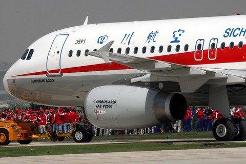 Китай заказал у Airbus 100 самолетов A320
