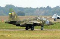 Военный самолет РФ вчера сбил украинский Су-25, - СНБО