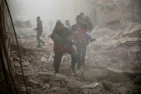 Правозахисники: Унаслідок російських авіаударів уСирії загинули 792 мирні громадяни