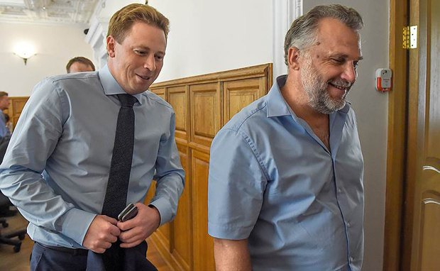 Алексей Чалый (справа) и Дмитрий Овсянников