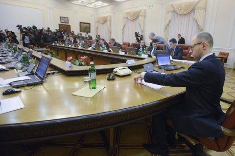 Яценюк требует от Рады заполнить пять вакансий в Кабмине