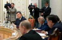 Минск, октябрь 2013 года, рабочий визит Президента Украины