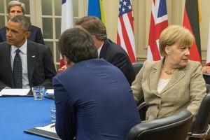 Меркель отметила недостатки в выполнении Россией мирного плана на Донбассе