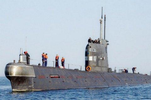 Россия спишет подлодку ВМС Украины'Запорожье