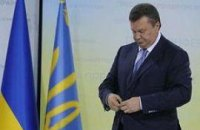 Обеспокоенный пожарами Янукович возвращается в Киев