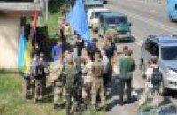 Націоналісти Коханівського розбили табір під Києвом в очікуванні хресної ходи