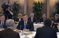 Руководители ЕС опоздали на важную встречу из-за беседы с Януковичем