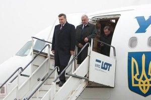 Янукович отбыл в Туркменистан для встреч с властями