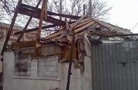 В Луганской области обстрел боевиков повредил дом престарелых