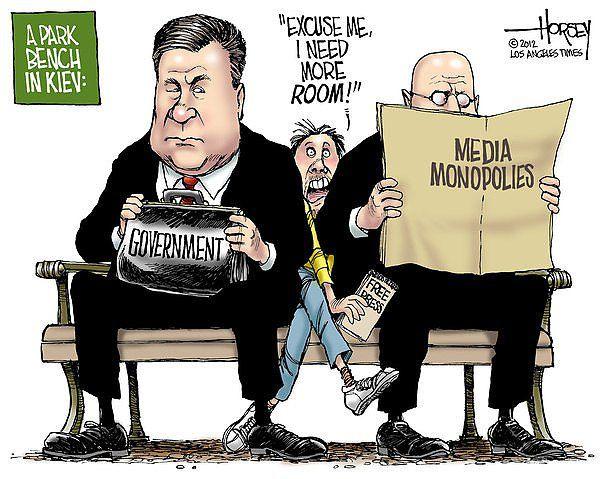 Карикатура Дэвида Хорси