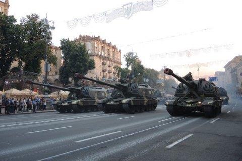 Киев парализует генеральная репетиция военного парада— Очередной транспортный коллапс