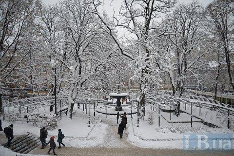 Завтра в Киеве потеплеет до -3...-5 градусов