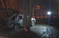 В Харькове взорвали автомобиль