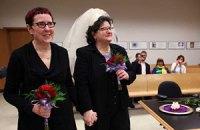 В Словении легализовали однополые браки
