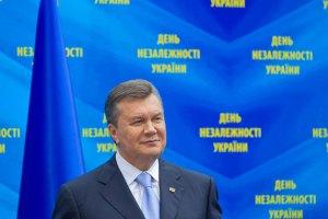 Януковича з Днем Независимости поздравили более 30 глав государств