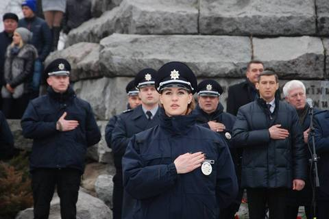 В Черкасах начала работать патрульная полиция
