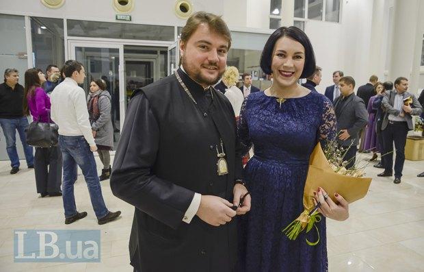 Митрополит Александр (Драбинко) и Соня Кошкина