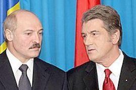Ющенко привез Лукашенко в эпицентр эпидемии