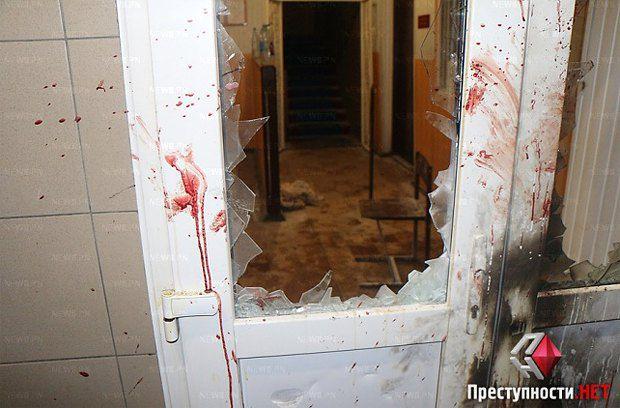 Последствия штурма отделения милиции во Врадиевке