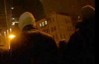 В Харькове неизвестные напали на митинг Евромайдана
