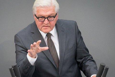 Штайнмайер констатировал плохую реализацию Минских договоров