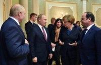 """Лидеры """"нормандской четверки"""" в Минске не исключали введение миротворцев на Донбасс, - АПУ"""