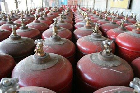 Найбільшим споживачем балонного газу в області є Голопристанський район