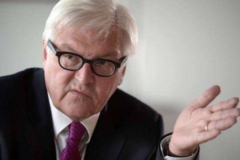Штайнмайер призвал реагировать на аннексию Крыма и войну РФ на Донбассе