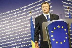 Янукович обещает стабильный транзит газа в Европу